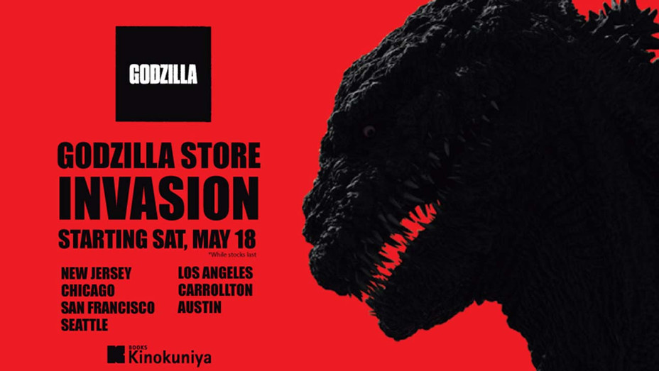 Godzilla Pop-Up-Publicity-H 2019