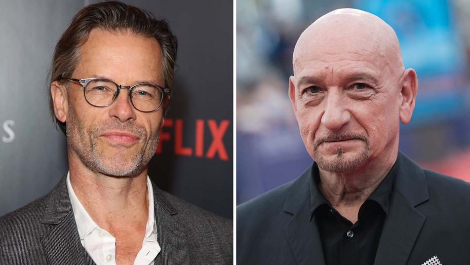 Guy Pearce and Ben Kingsley - Solit-Getty-H 2019
