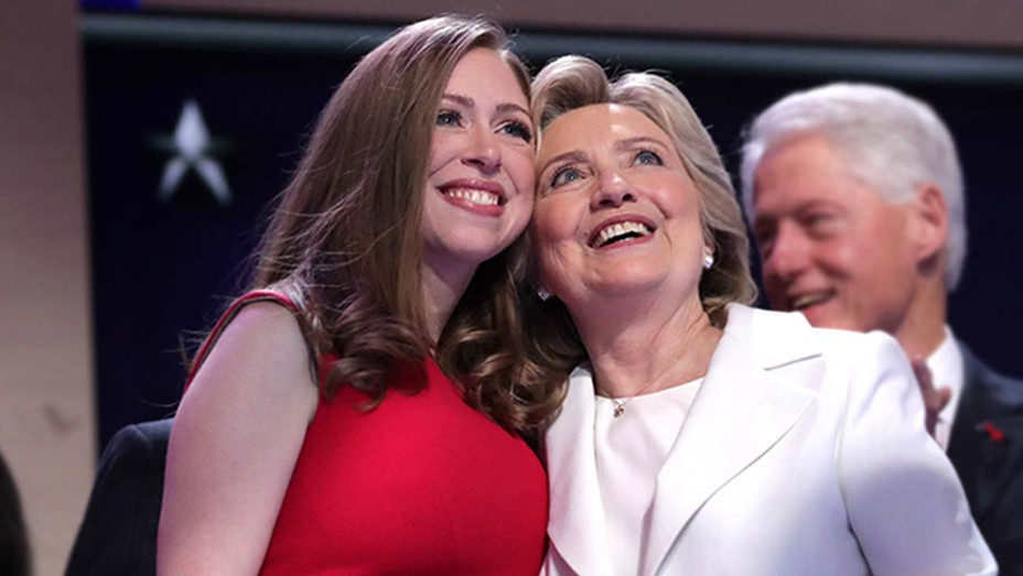 Hillary Clinton along with her daughter Chelsea Clinton -Getty-H 2019