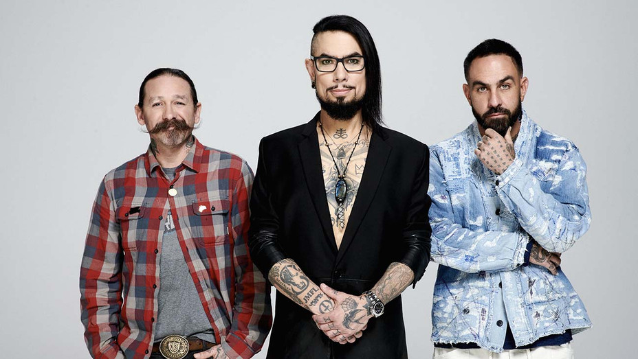 Ink Master Season 12 host and judges -Dylan Coulter for Paramount Network - H 2019