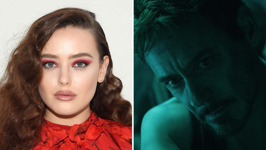 Katherine Langford and Ironman_split - Getty - H 2019