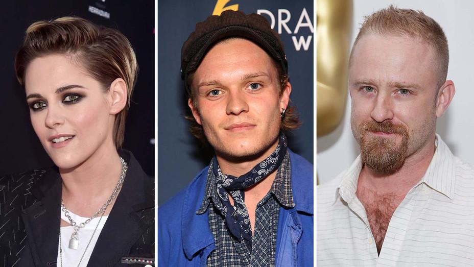 Kristen Stewart, Tom Glynn-Carney, Ben Foster_Split - Getty - H 2019