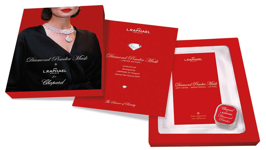 L.Raphael luxe mask — Publicity — H 2019