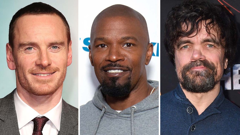 Michael Fassbender-Jamie Foxx - Peter Dinklage-Getty-Split-H 2019