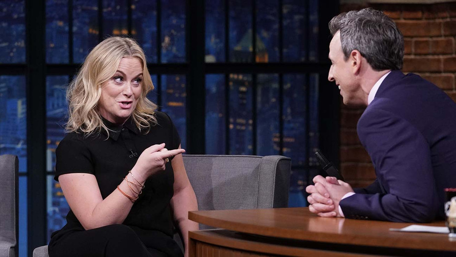 LATE NIGHT WITH SETH MEYERS - Episode 836 -Amy Poehler -May 9, 2019-Publicity-H 2019