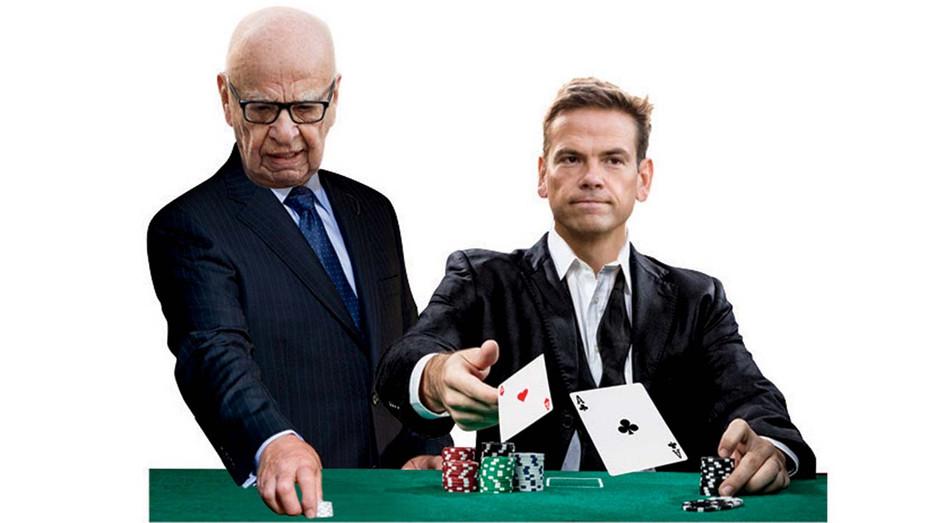 Murdochs Go All in  on Sports Betting - Photo illustration-H 2019