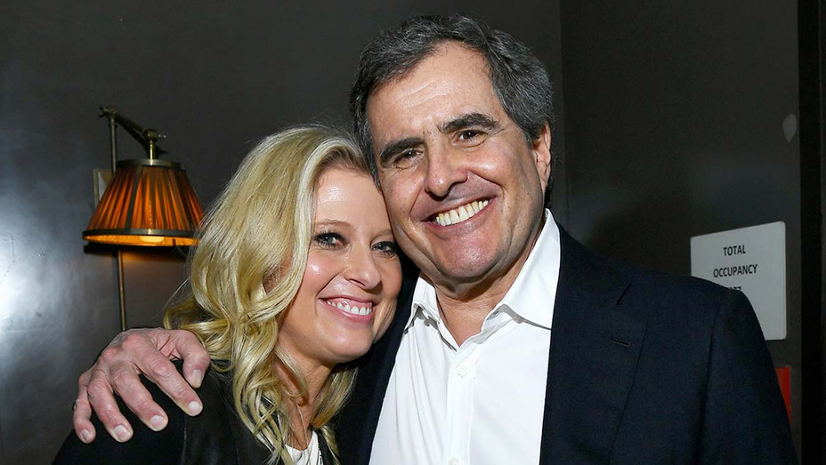 Peter Chernin and Jenno Topping-Getty-H 2019
