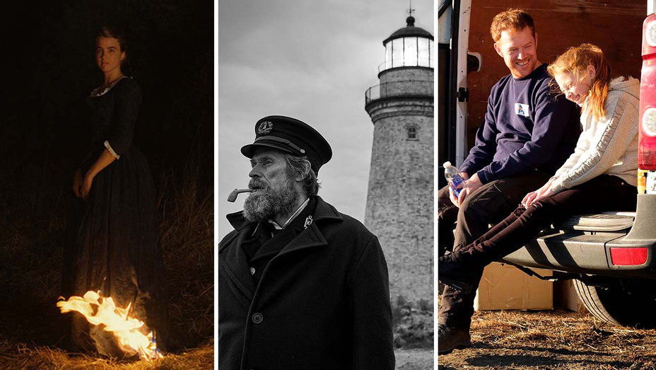 Portrait of a Lady on Fire-The Lighthouse and Sorry I Missed You-Publicity Stills-Split-H 2019