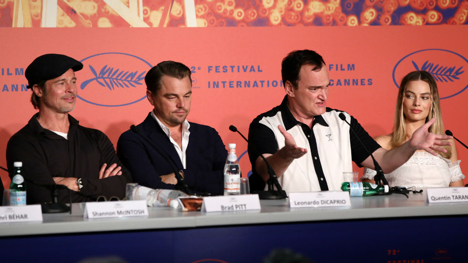 'Once Upon a Time in Hollywood' Cannes press conference - H 2019