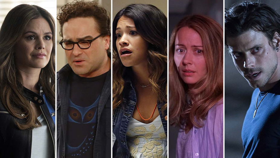 Rachel Bilson on Take Two (ABC), Johnny Galecki OR Jim Parsons on Big Bang Theory (CBS), Gina Rodriguez on Jane the Virgin (CW), Amy Acker on The Gifted (Fox), Francois Arnaud on Midnight Texas (NBC)-H 2019
