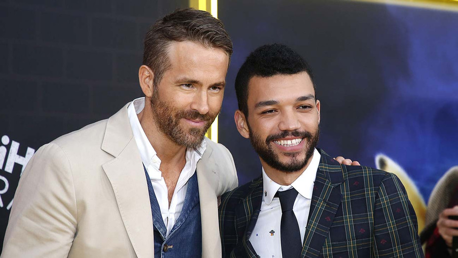 Ryan Reynolds and Justice Smith - Getty - H 2019