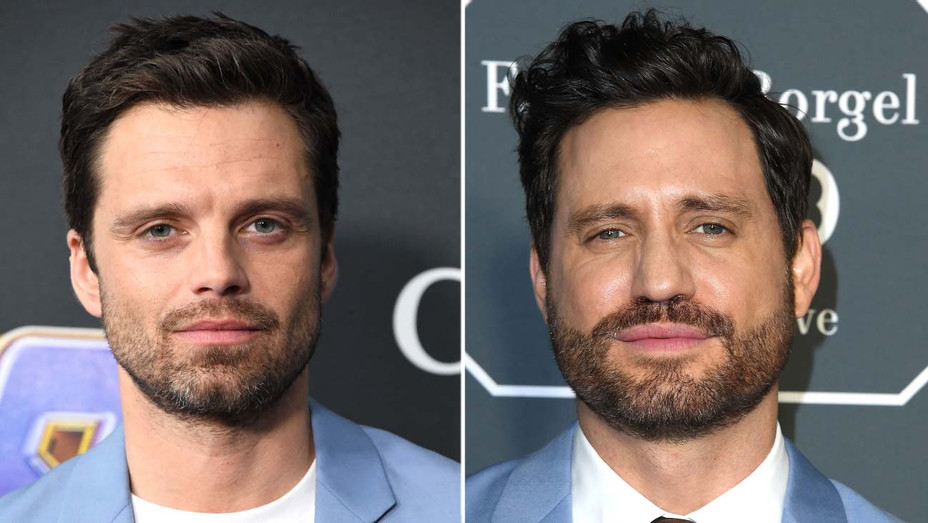 Sebastian Stan, Edgar Ramirez Split - H Getty - 2019