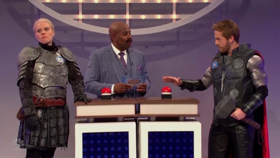 SNL 'Family Feud' Cold Open — Screenshot — H 2019