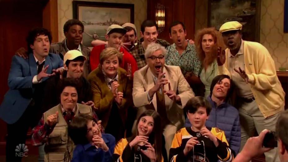 Sandler Family Reunion 'SNL' — Screenshot — H 2019