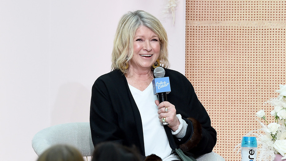 Martha Stewart speaks on stage at Create & Cultivate New York - H Getty 2019