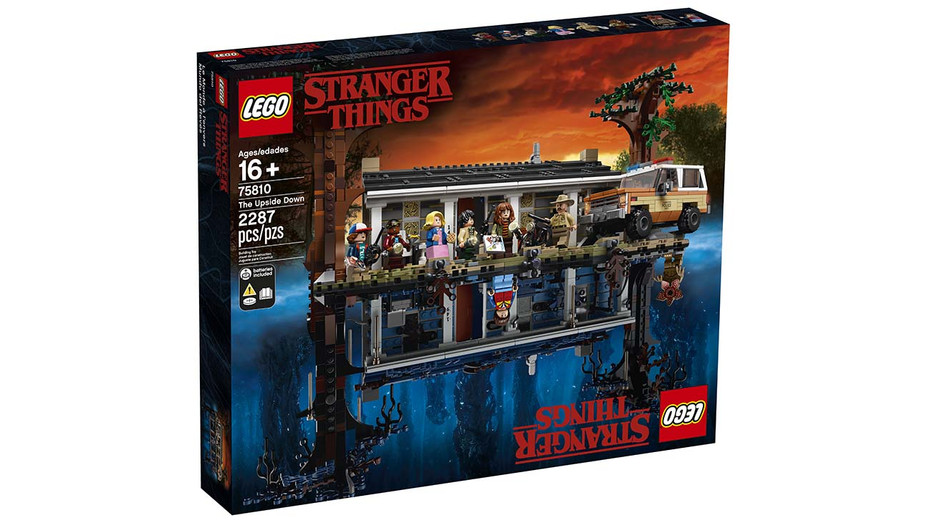 Stranger Things Lego - Publicity - H 2019