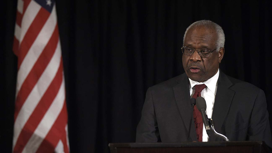 Supreme Court Justice Clarence Thomas-Getty-H 2019