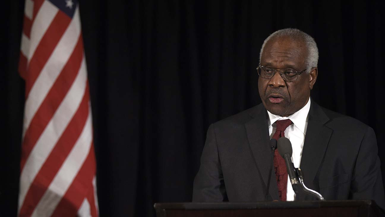 Clarence Thomas Thinks It Should Be Easier to Sue Online Platforms