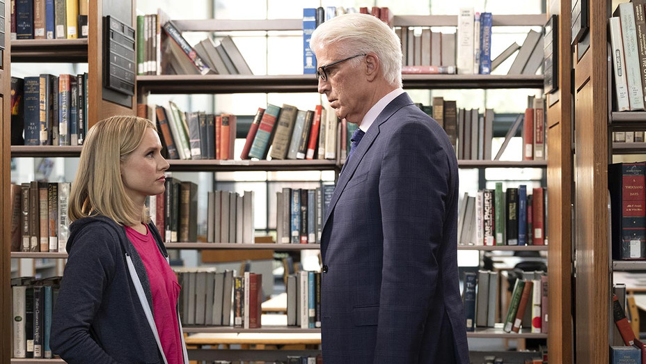 The Good Place-Ted Danson and Kristen Bell-Publciity Still-H 2019