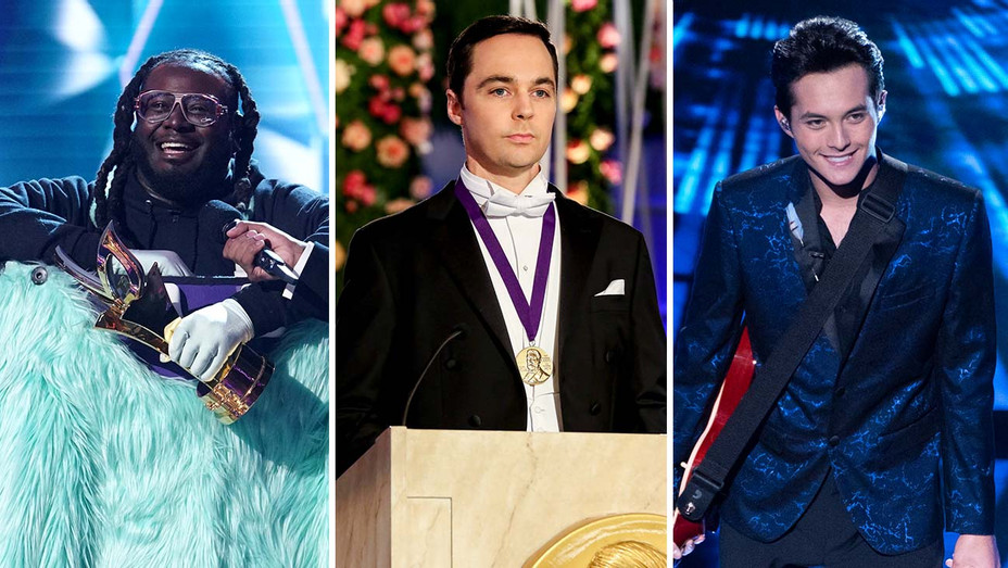 The Masked Singer, Big Bang Theory and American Idol-H 2019