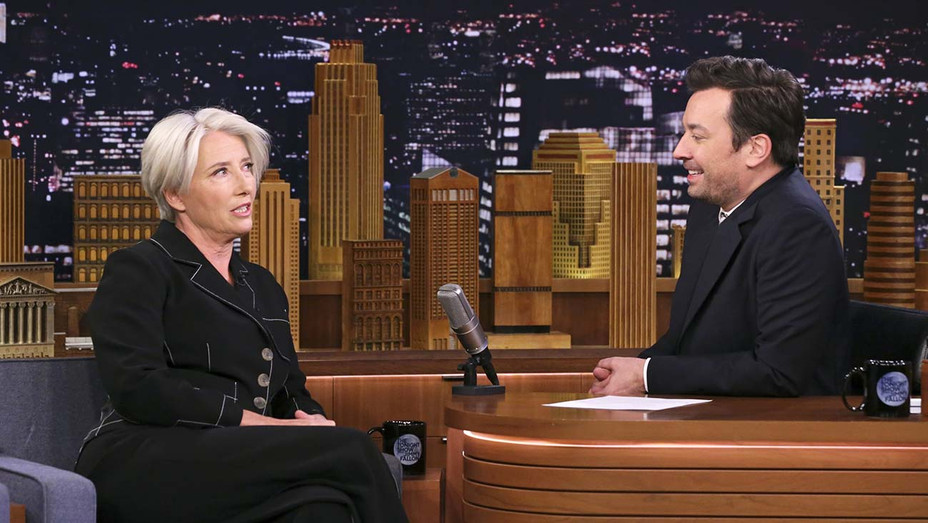 THE TONIGHT SHOW STARRING JIMMY FALLON -Emma Thompson-Publicity Still-H 2019