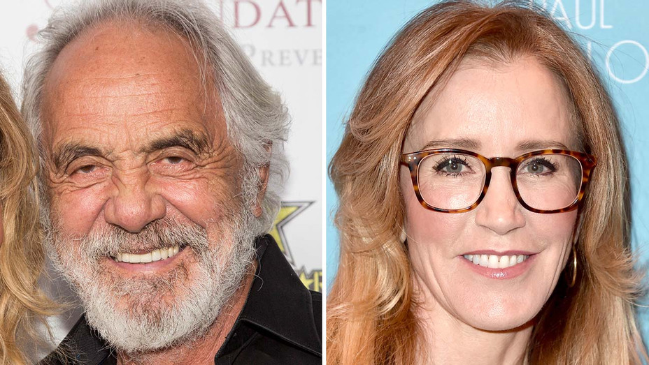 Tommy Chong and Felicity Huffman_Split - Getty - H 2019