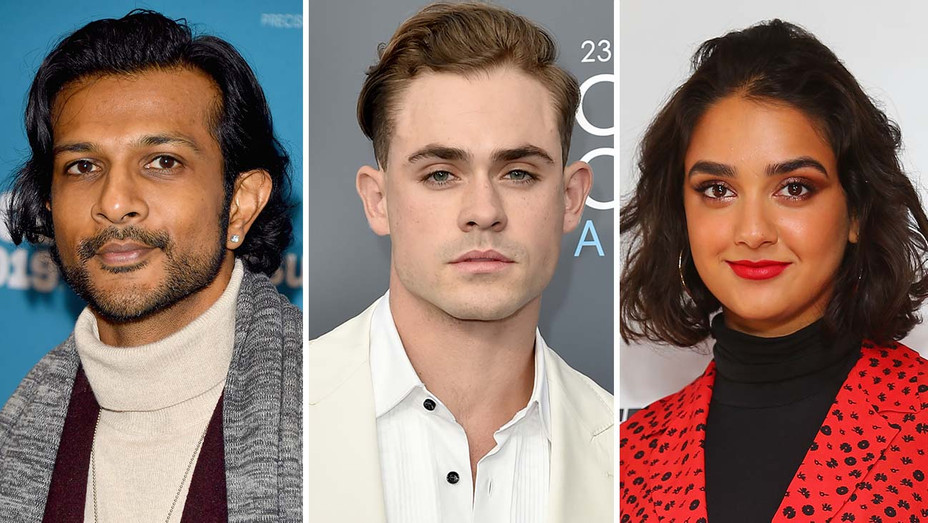 Utkarsh Ambudkar, Dacre Montgomery, Geraldine Viswanathan Split New-Getty-H 2019