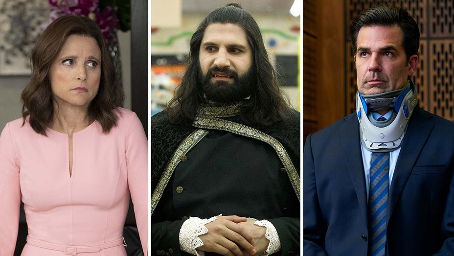 Veep, What We Do in the Shadows and Catastrophe_Split - Publicity - H 2019