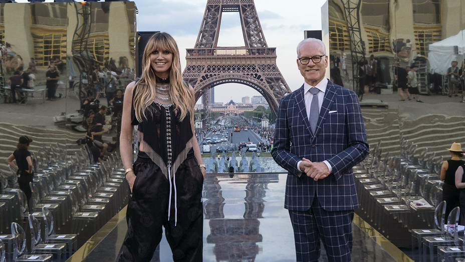 NEW_ Heidi Klum and Tim Gunn, Making the Cut — Amazon Studios Publicity - H 2019