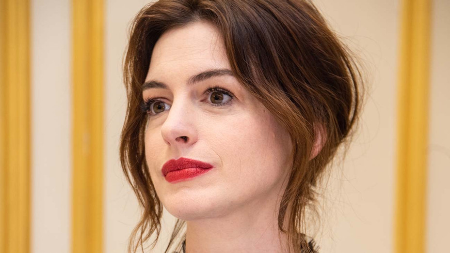 Anne Hathaway_Serious - Getty - H 2019