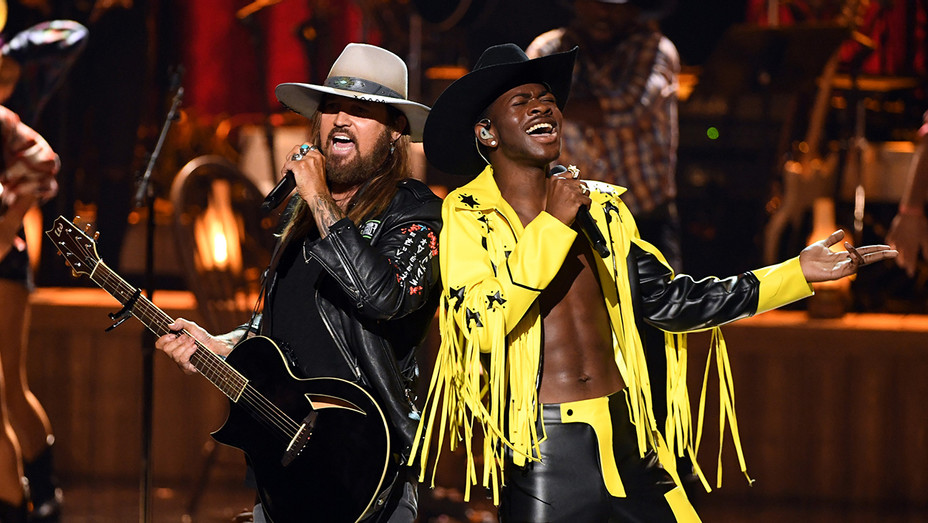 Billy Ray Cyrus and Lil Nas X - BET Awards - H Getty 2019