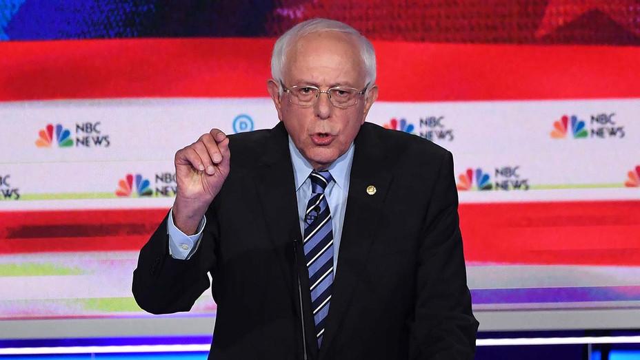 Democratic Debate Night 2_Bernie Sanders - Getty - H 2019