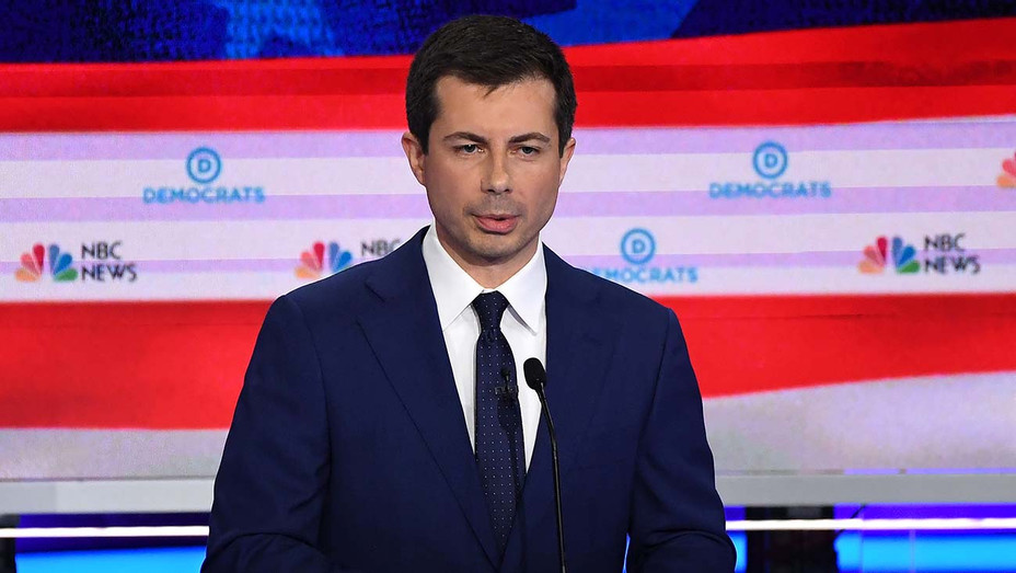 Democratic Debate Night 2_Pete Buttigieg - Getty - H 2019