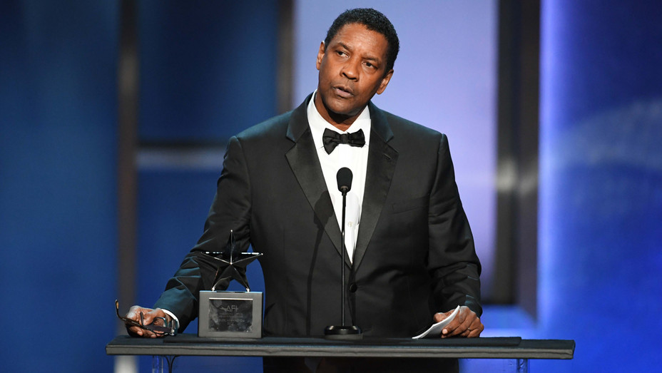 Denzel Washington at Life Achievement Award Gala - H Getty 2019