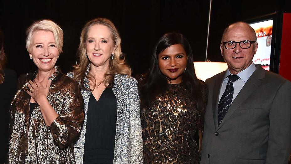 CinemaCon 2019 - Emma Thompson, Jennifer Salke, Mindy Kaling, and Bob Berney-Getty-H 2019