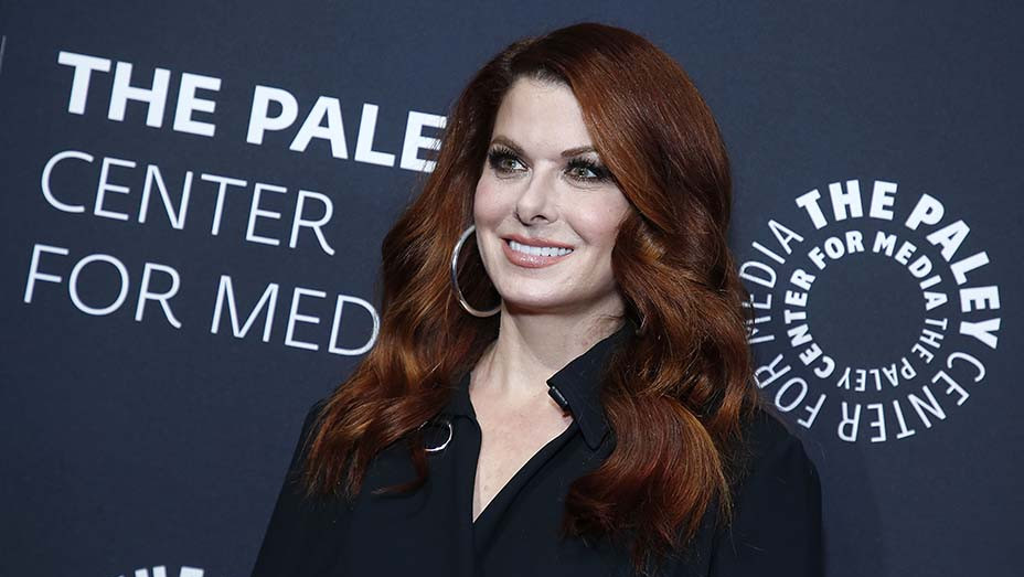 Debra Messing attends The Paley Honors: A Gala Tribute To LGBTQ - EMBED 2019
