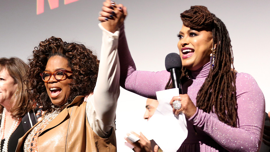 Oprah Winfrey Ava DuVernay When They See Us Premiere - Getty - H 2019
