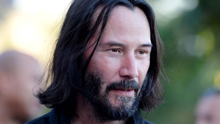 """Keanu Reeves arrives at the LA Special Screening of Amazon's """"Too Old To Die Young"""" - Getty-H 2019"""