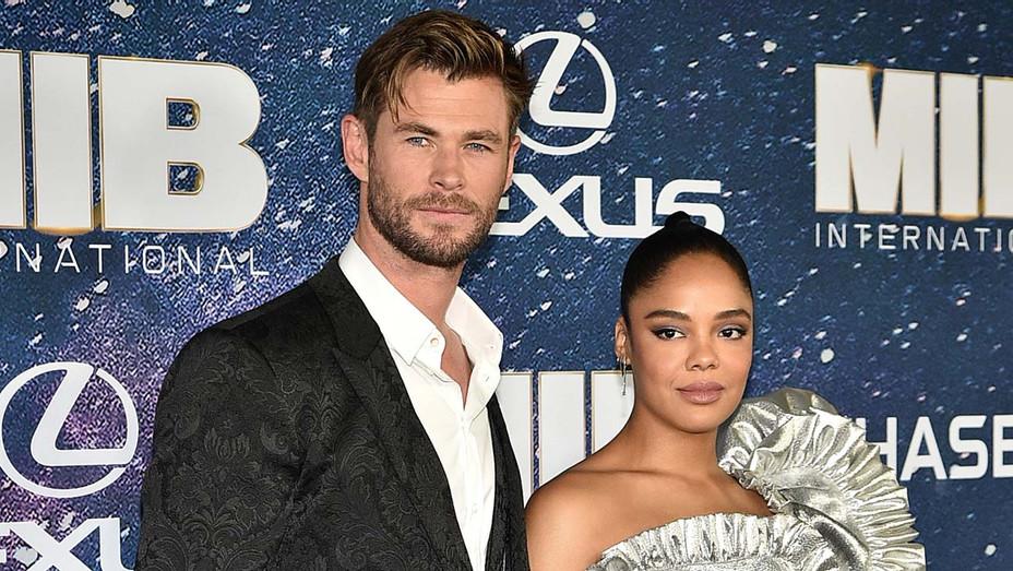"Chris Hemsworth and Tessa Thompson attend ""Men In Black International"" World Premiere - Getty-H 2019"