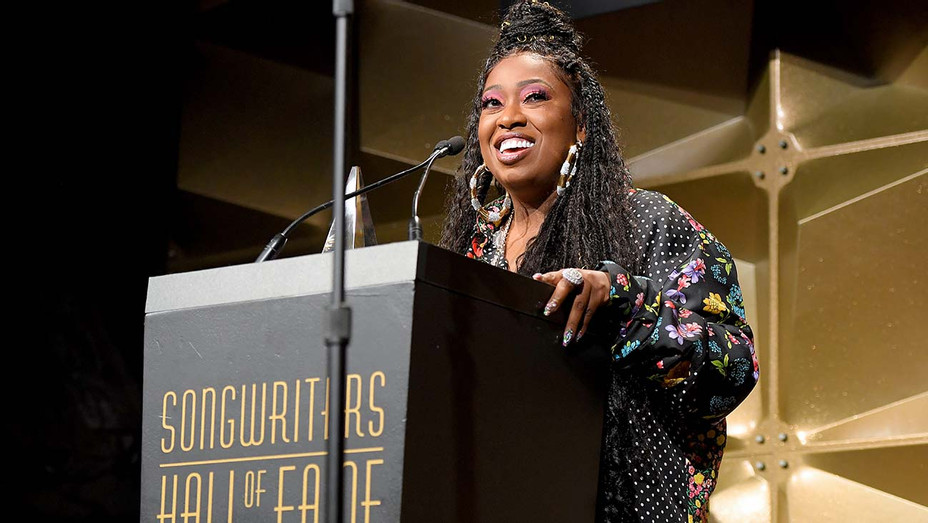 Missy Elliott speaks onstage during the Songwriters Hall Of Fame 50th Annual Induction - Getty-H 2019