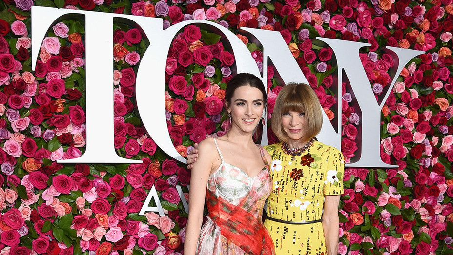 Bee Shaffer Anna Wintour 2018 Tony Awards - Getty - H 2019
