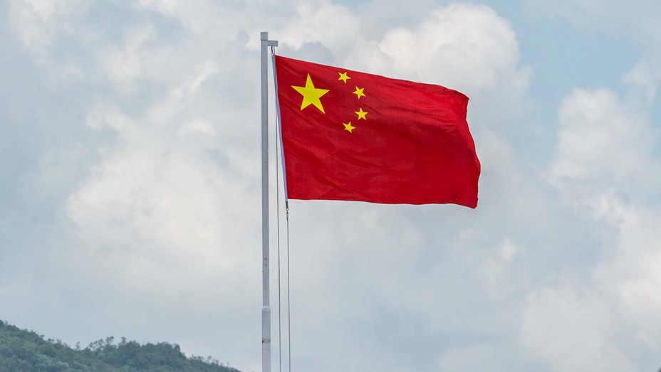 Chinese national flag - Shek Kong Barracks on June 30, 2018- Getty-H 2019