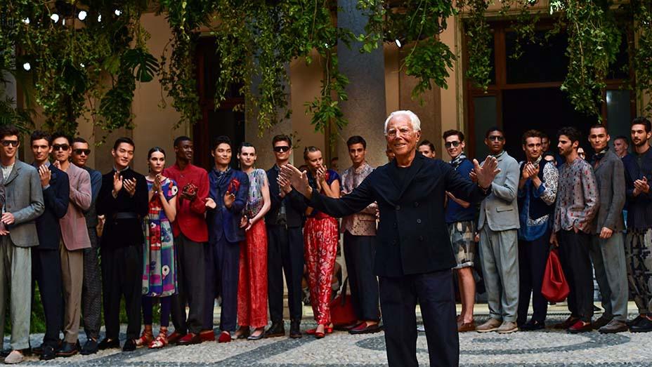 Italian fashion designer Giorgio Armani-Getty-Embed-2019