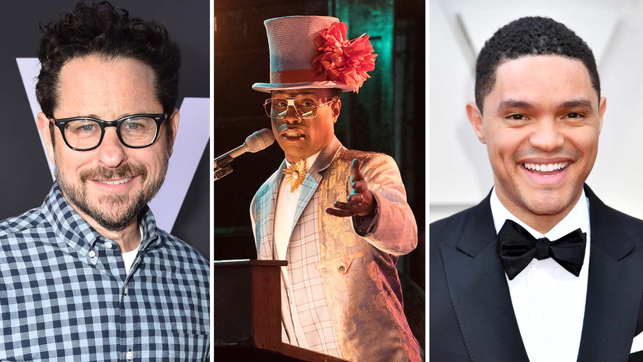 J.J. Abrams, Billy Porter in an episodic from Pose and Trevor Noah-Getty-Publicity-Split-H 2019