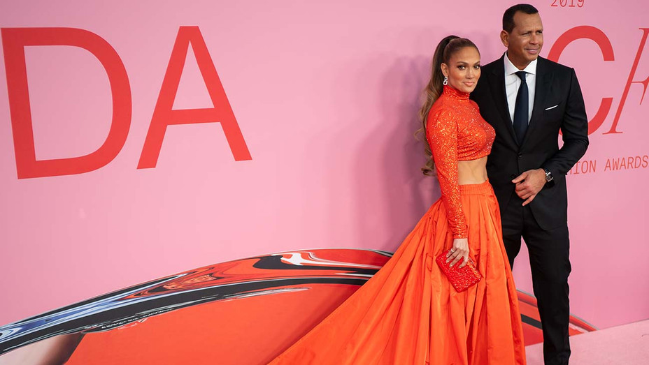 Jennifer Lopez and Alex Rodriguez_CFDA - Getty - H 2019