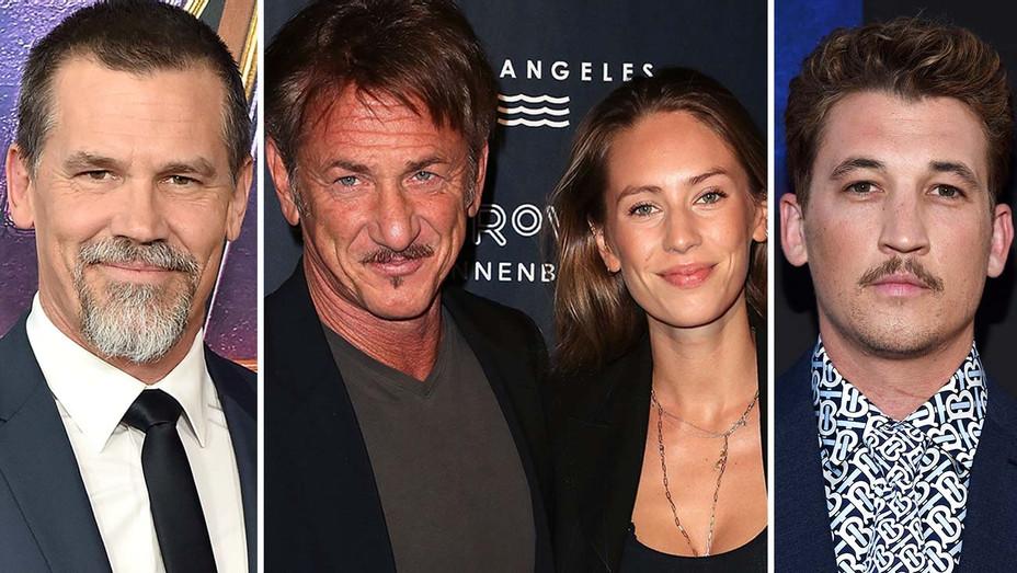 Josh Brolin, Sean Penn, Dylan Penn and Miles Teller - Getty-Split-H 2019