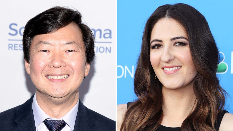 KEN JEONG and D'ARCY CARDEN_Split - Getty - H 2019