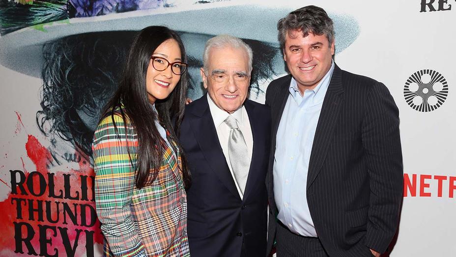 Lisa Nishimura, Martin Scorsese, Adam Del Deo - Getty - H 2019