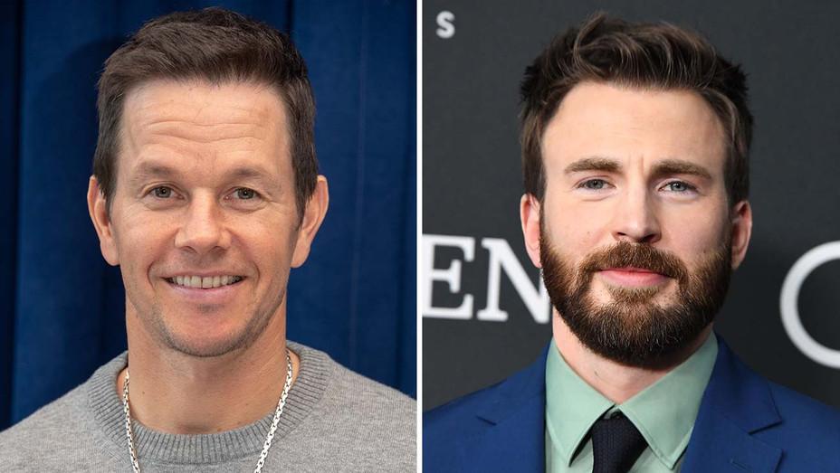 Mark Wahlberg_ Chris Evans_Split - Getty - H 2019