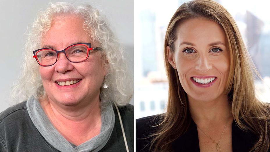 Meg Simon and Findley Davidson- Warner Bros. TV-Publicity-H 2019